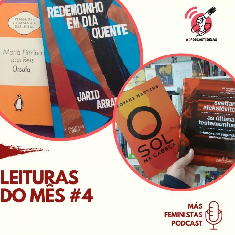 Más Feministas Podcast – Leituras do Mês #4
